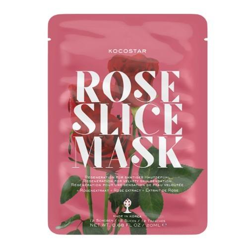 Kocostar Regenerační plátková maska Růže (Slice Sheet Mask) 20 ml