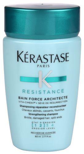 Kérastase Šampon s posilujícími účinky pro oslabené a lehce poškozené vlasy Resistance Bain Force Architecte (Strengthening Shampoo) 80 ml