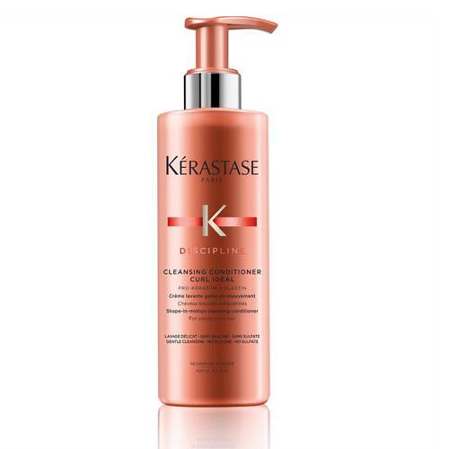 Kérastase Čisticí kondicionér pro kudrnaté nepoddajné vlasy Discipline (Cleansing Conditioner Curl Ideal) 400 ml