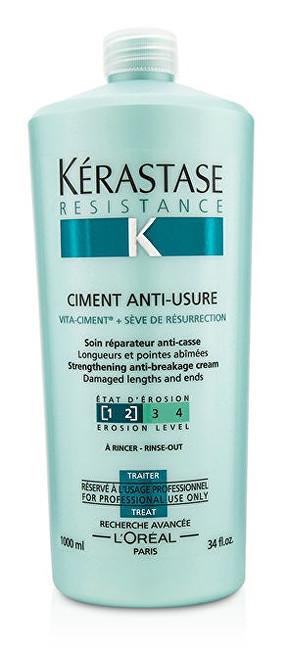 Kérastase Obnovující kúra pro poškozené vlasy Ciment Anti-Usure (Strengthening Anti-Breakage Cream) 1000 ml