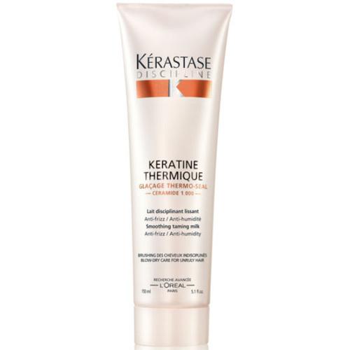 Kérastase Uhlazující mléko pro nepoddajné a krepatějící se vlasy Discipline (Keratine Thermique Milk) 150 ml - SLEVA - poškozená krabička