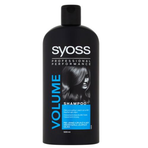 Syoss Šampon pro jemné a zplihlé vlasy Volume (Shampoo) 500 ml