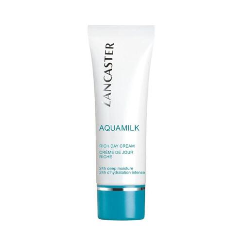 Lancaster Bohatý hydratační denní krém na suchou pokožku Aquamilk (Rich Day Cream) 50 ml