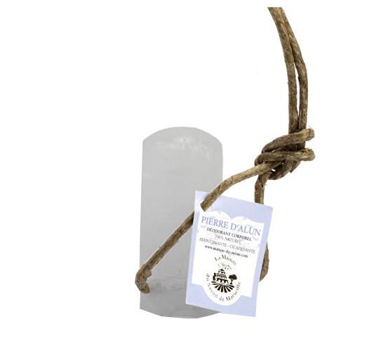 La Maison du Savon de Marseille Dezodorant s povrázkom Alun Stick Corde 115 g