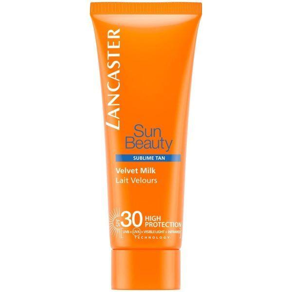 Lancaster Hedvábné mléko na opalování SPF 30 Sun Beauty Sublime Tan (Velvet Milk) 75 ml