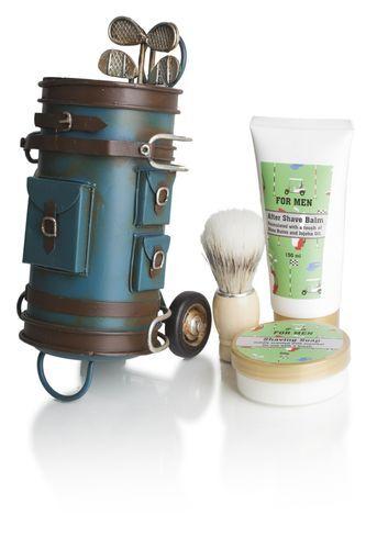 Lady Cotton Sada kozmetiky na holenie pre mužov v golfovom bagu (Shaving Set Golf Bag)