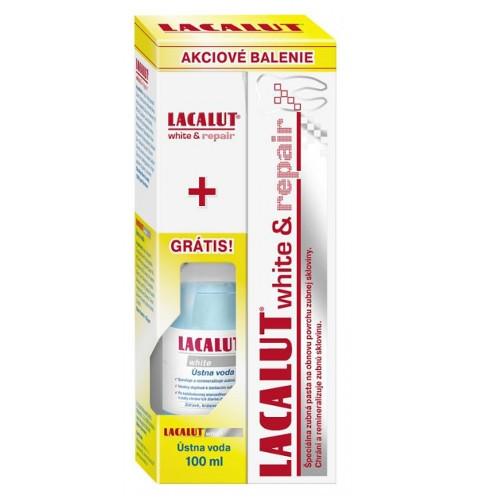 Lacalut Sada zubní pasty a ústní vody Lacalut
