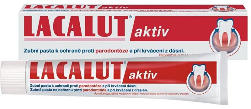 Lacalut Zubní pasta Lacalut Aktiv 75 ml