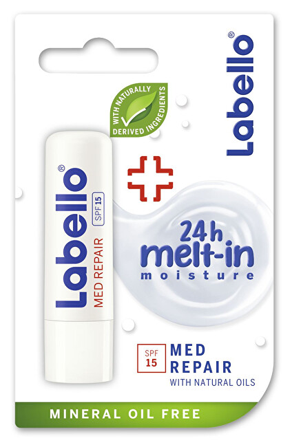 Labello Balzám na rty SPF 15 Med Protection Caring Lip Balm 48 g