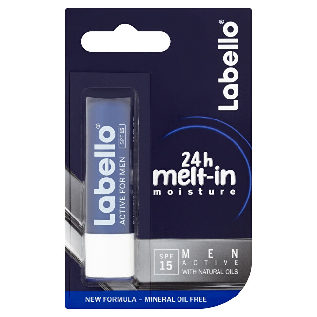Labello Labello Balzám na rty pro muže Activ For Man 4,8 g