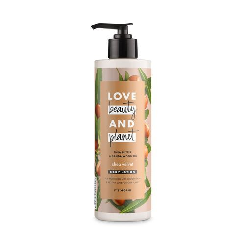 Love Beauty and Planet Vyživujúce telové mlieko s bambuckým maslom Shea Velvet ( Body Lotion) 400 ml