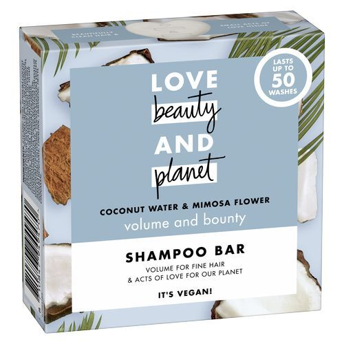 Love Beauty and Planet Tuhý šampón s kokosovou vodou a kvety mimózy (Shampoo Bar) 90 g