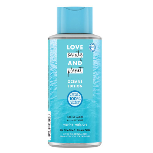 Love Beauty and Planet Hydratační šampon Oceans Edition Marine Moisture Hydrating Shampoo 400 ml