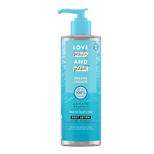 Love Beauty and Planet Hydratační tělové mléko Sea Algae  Euclyptus Oceans Edition Body Lotion 400 ml
