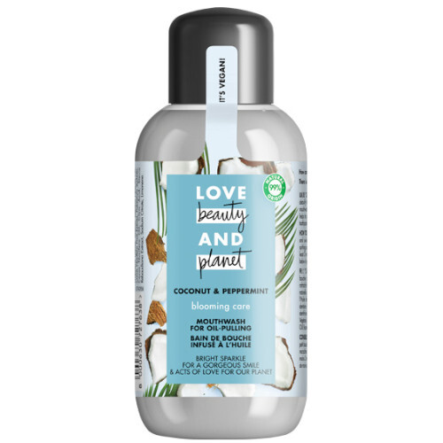 Love Beauty and Planet Ústní voda bez obsahu alkoholu Coconut  Peppermint Mouth Wash 250 ml