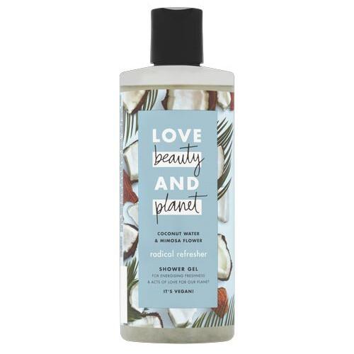 Love Beauty and Planet Osvěžující sprchový gel s kokosovou vodou a květy mimózy (Radical Refresher Shower Gel) 500 ml