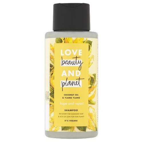 Love Beauty and Planet Šampon na suché a poškozené vlasy s ylang-ylang a kokosovým olejem (Hope and Repair Shampoo) 100 ml