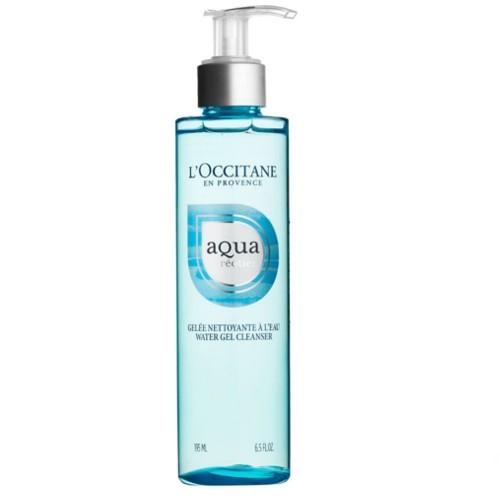 L`Occitane en Provence Čisticí pleťový gel s obsahem vody (Aqua Gel Cleanser) 195 ml