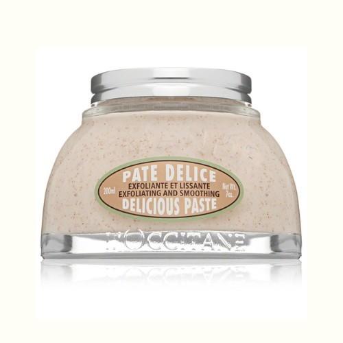 L`Occitane en Provence Exfoliační tělové máslo s mandlovým olejem Pate Delice (Exfoliating and Smoothing Paste) 200 ml