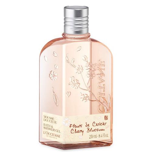 L`Occitane en Provence Koupelový a sprchový gel Třešňový květ (Bath & Shower gel Cherry Blossom) 250 ml