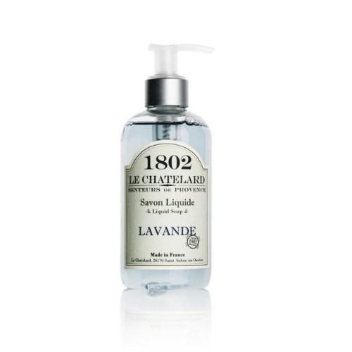Le Chatelard Tekuté mýdlo s uklidňující vůní levandule (Liquid Soap) 250 ml