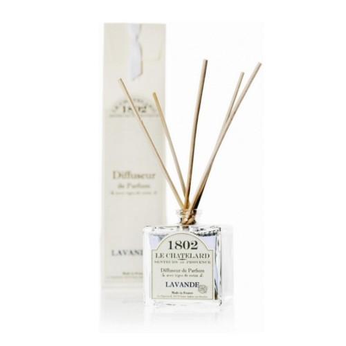Le Chatelard Vonný difuzér s vôňou levanduľových kvetov 100 ml