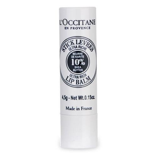 L`Occitane en Provence Výživný balzám na rty s 10% bambuckého másla (Stick Levres Lip Balm Stick) 4,5 g