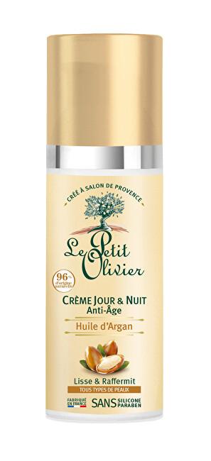 Le Petit Olivier Denní a noční krém proti vráskám s arganovým olejem Anti-Age (Day & Night Cream) 50 ml