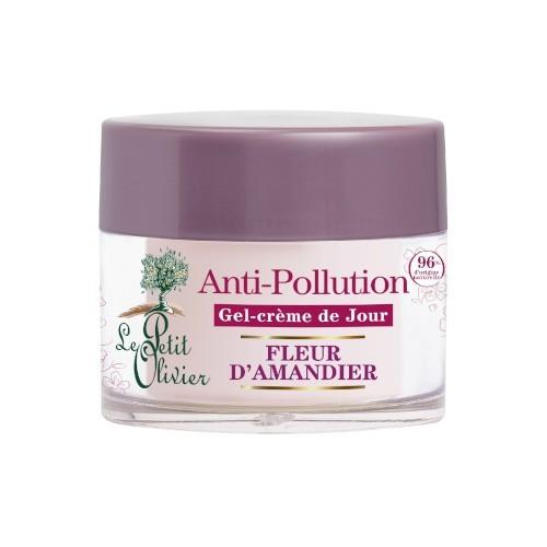Le Petit Olivier Denní pleťový gel-krém Mandlový květ 50 ml
