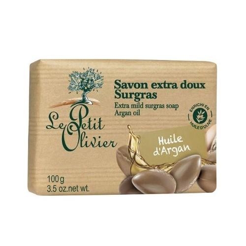 Le Petit Olivier Extra jemné mýdlo Arganový olej (Extra Mild Surgras Soap) 100 g