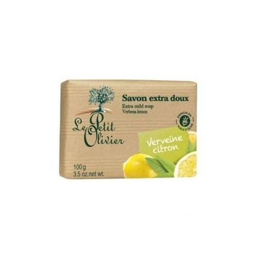 Le Petit Olivier Extra jemné mýdlo Verbena a citrón (Extra Mild Soap Bars) 100 g