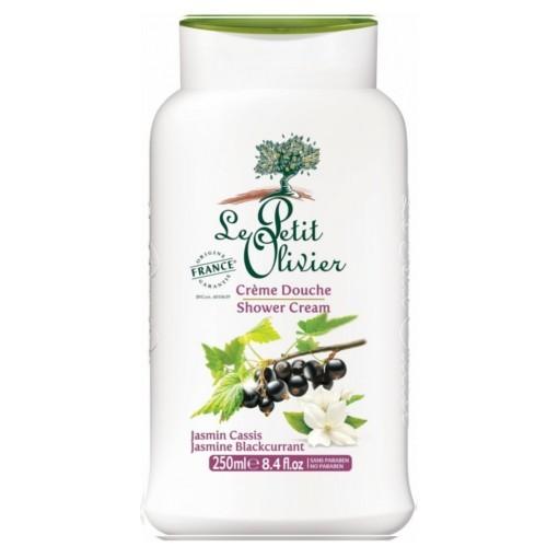 Le Petit Olivier Jemný sprchový krém Jasmín a černý rybíz (Shower Cream) 250 ml