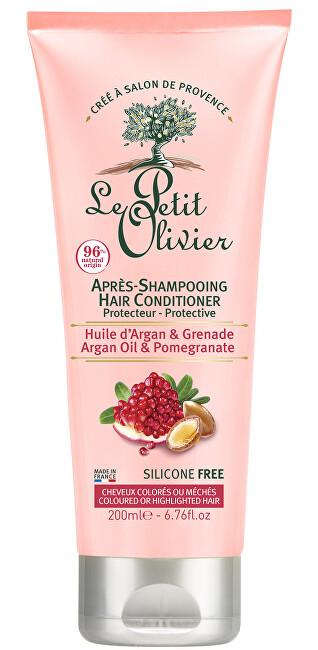 Le Petit Olivier Ochranný kondicionér pre farbené vlasy s granátovým jablkom a arganovým olejom (Conditioner) 200 ml