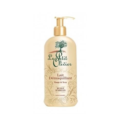 Le Petit Olivier Odličovací a čistící mléko na obličej a pleť s arganový olejem (Purifying Cleansing Milk Of Eyes And Face) 200 ml