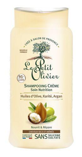 Le Petit Olivier Šampon pro suché a poškozené vlasy Oliva, bambucké máslo a arganový olej 250 ml
