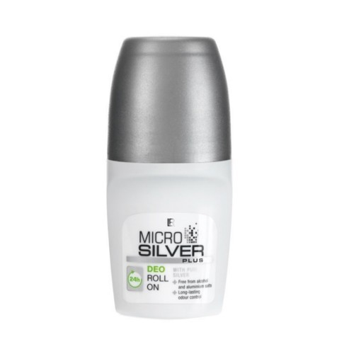 LR health   beauty Guličkový dezodorant Microsilver Plus (Deo Roll-On) 50 ml