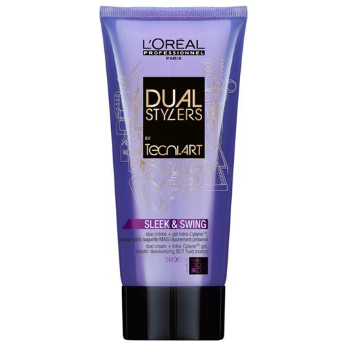 Loreal Professionnel Bicomponent crema gel pentru a netezi părul (Dual staileri elegant si Swing Duo CREMA + Gel) 150 ml