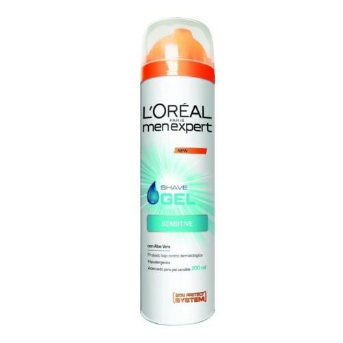 Loreal Paris Hydratační gel na holení pro citlivou pleť Men Expert (Hydra Sensitive Shave Gel) 200 ml