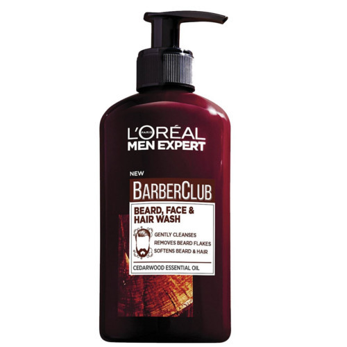 L´Oréal Paris Gél na fúzy, tvár a vlasy Barber Club Gel 3v1 (Beard, Face & Hair Wash) 200 ml