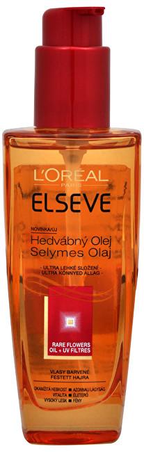 Loreal Paris Hodvábny olej pre farbené vlasy Rare Flowers Oil + UV Filtres 100 ml