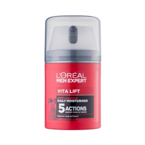 Loreal Paris Hydratační krém proti stárnutí pleti pro muže Men Expert (Vita Lift 5 daily Moisturiser) 50 ml