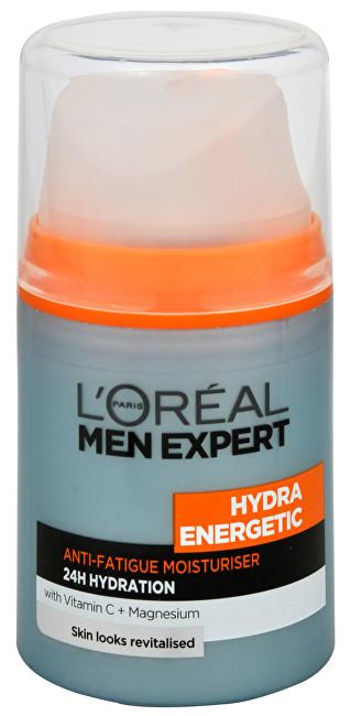 L´Oréal Paris Hidratant împotriva semne de oboseală pentru bărbați Hydra energetice 50 ml