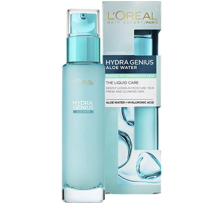 L´Oréal Paris Hydratačná pleťová starostlivosť pre každodenné použitie pre normálnu až zmiešanú pleť Hydra Genius (Liquid Care Daily Moisturiser) 70 ml
