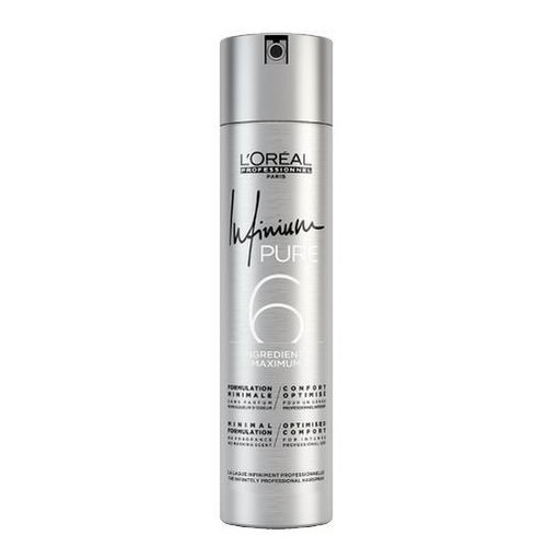 Loreal Professionnel Hypoalergenní lak na vlasy se sinou Infinium Pure (Hairspray) 300 ml