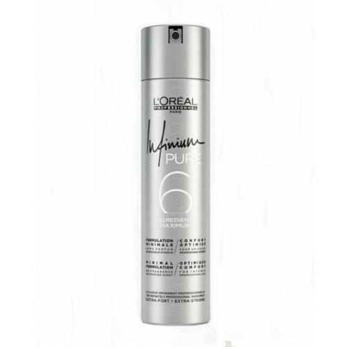 Loreal Professionnel Hypoalergenní lak na vlasy bez parfemace pro extra silnou fixaci vlasů Infinium Pure (Extra Strong Hairspray) 500 ml
