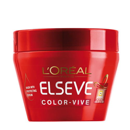 L´Oréal Paris Maska na barvené vlasy Elseve Color Vive (Mask With Protecting Serum) 300 ml