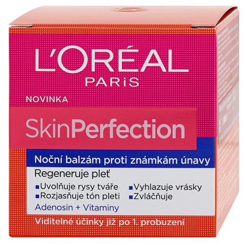Loreal Paris Noční balzám proti známkám únavy SkinPerfection 50 ml