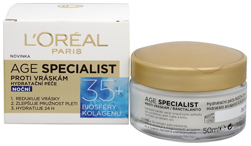 L´Oréal Paris Noční krém proti vráskám Age Specialist 35+ 50 ml