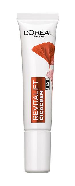 Loreal Paris Oční krém proti stárnutí pleti Revitalift Cica Cream 15 ml