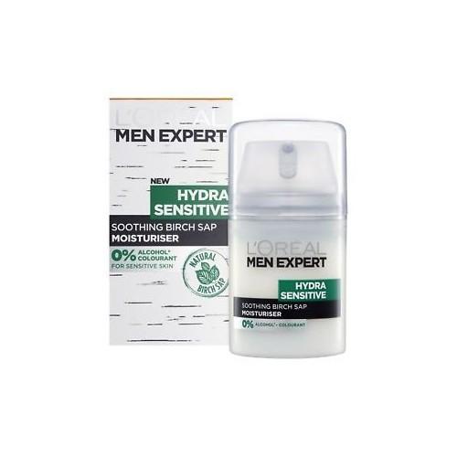 Loreal Paris Pánský hydratační krém pro citlivou pleť Men Expert (Hydra Sensitive Protecting Moisturiser) 50 ml